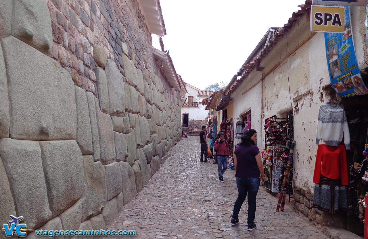 Ruas estreitas de Cusco