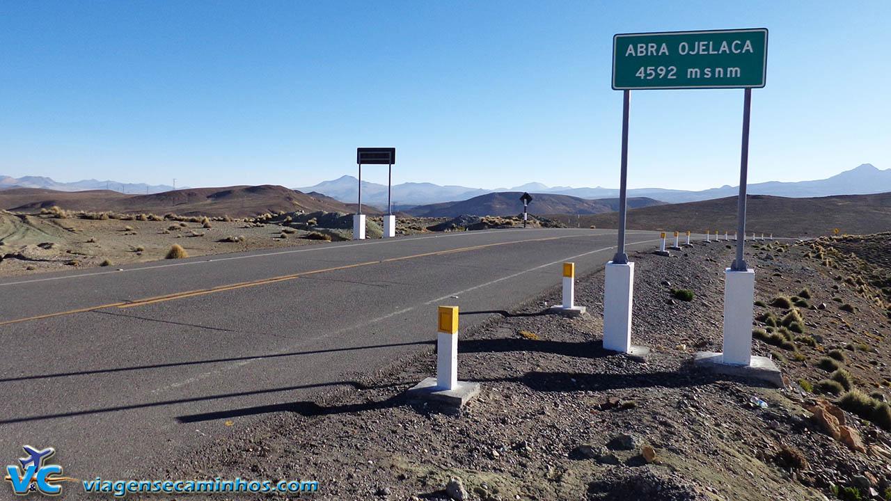 Abbra Ojelaca - 4592m - Ponto mais alto da estrada