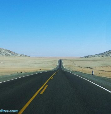 Deserto entre Moquegua e Arequipa - Peru