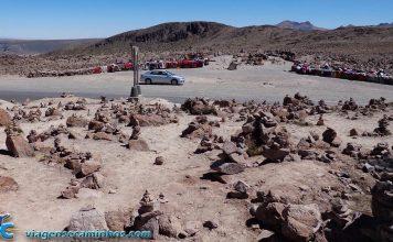 Estrada entre Arequipa e Chivay - Peru