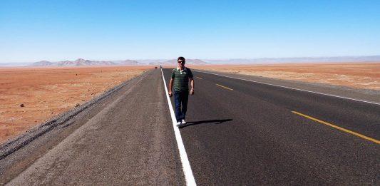 Estrada entre Moquegua e Arequipa - Peru