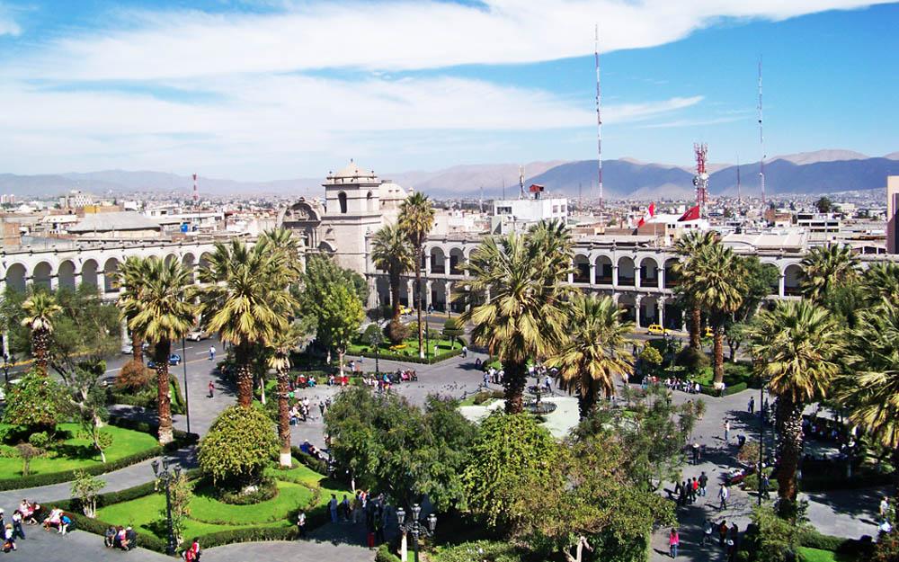 Praça das Armas - Arequipa