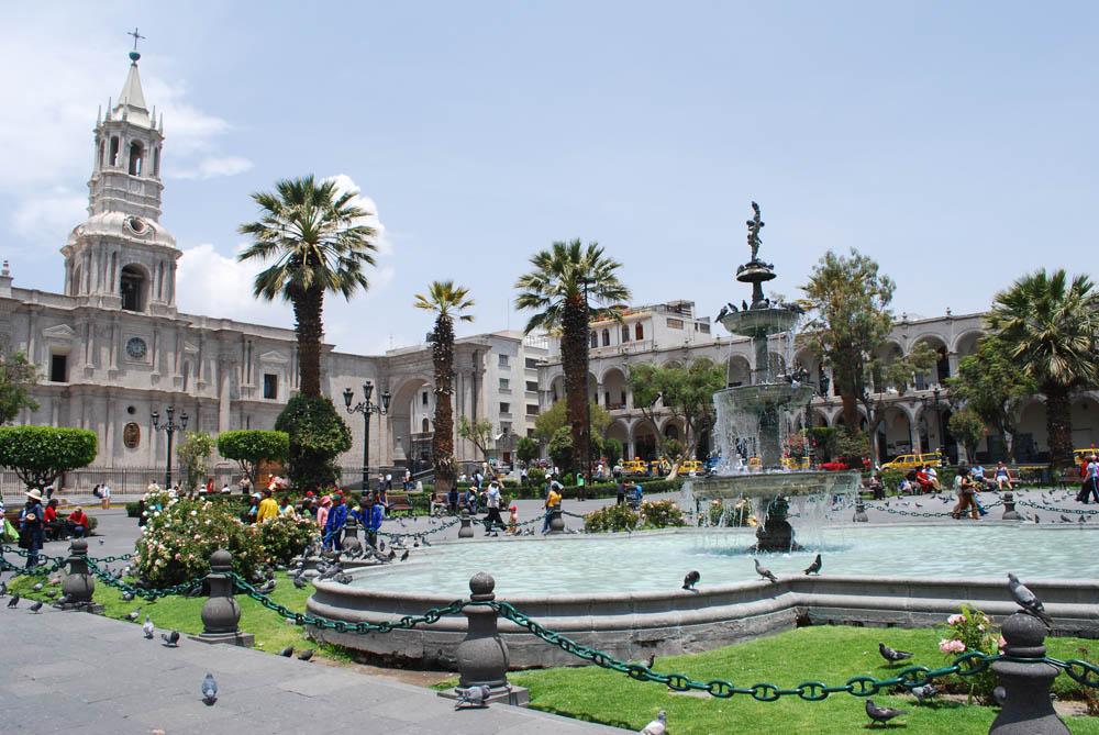 Praça das Armas de Arequipa