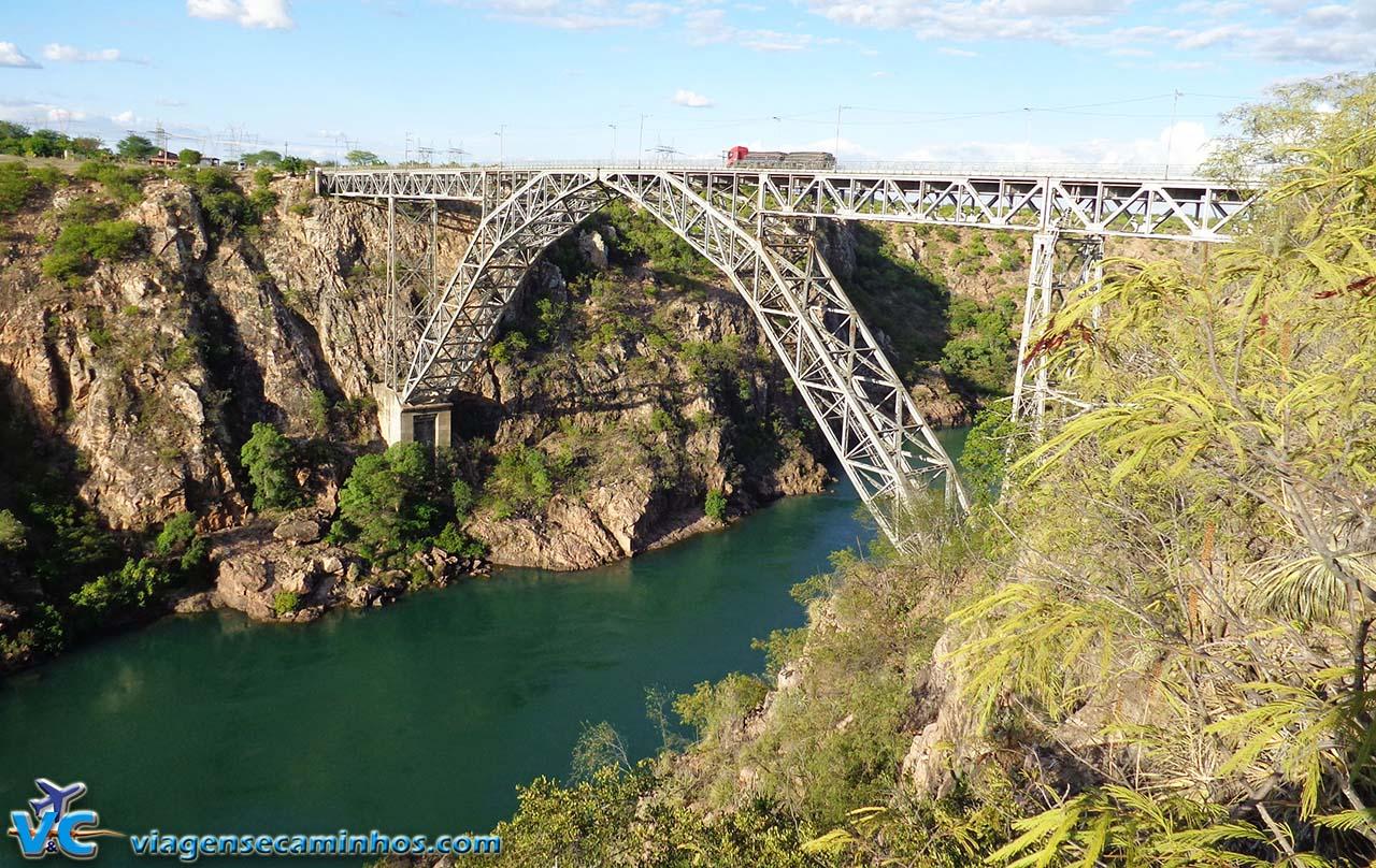 Ponte Dom Pedro - Rio São Francisco - Paulo Afonso