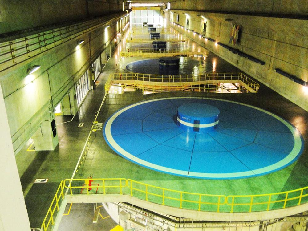 Turbinas da Usina de Xingó