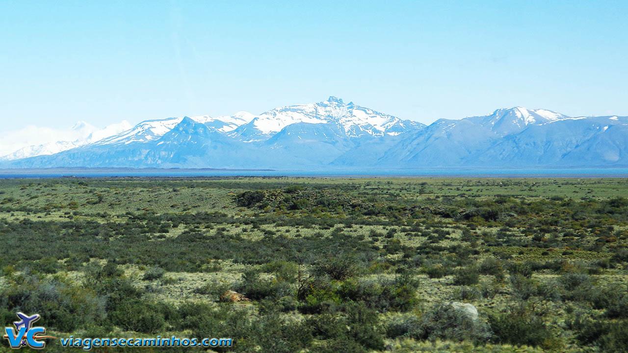 El Calafate, a caminho do Glaciar Perito Moreno