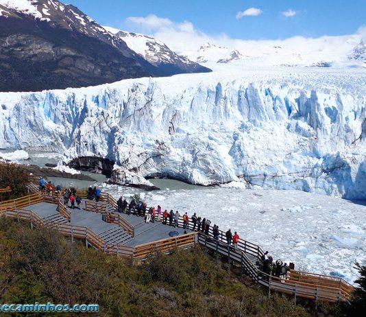 Vista espetacular do Glaciar Perito Moreno