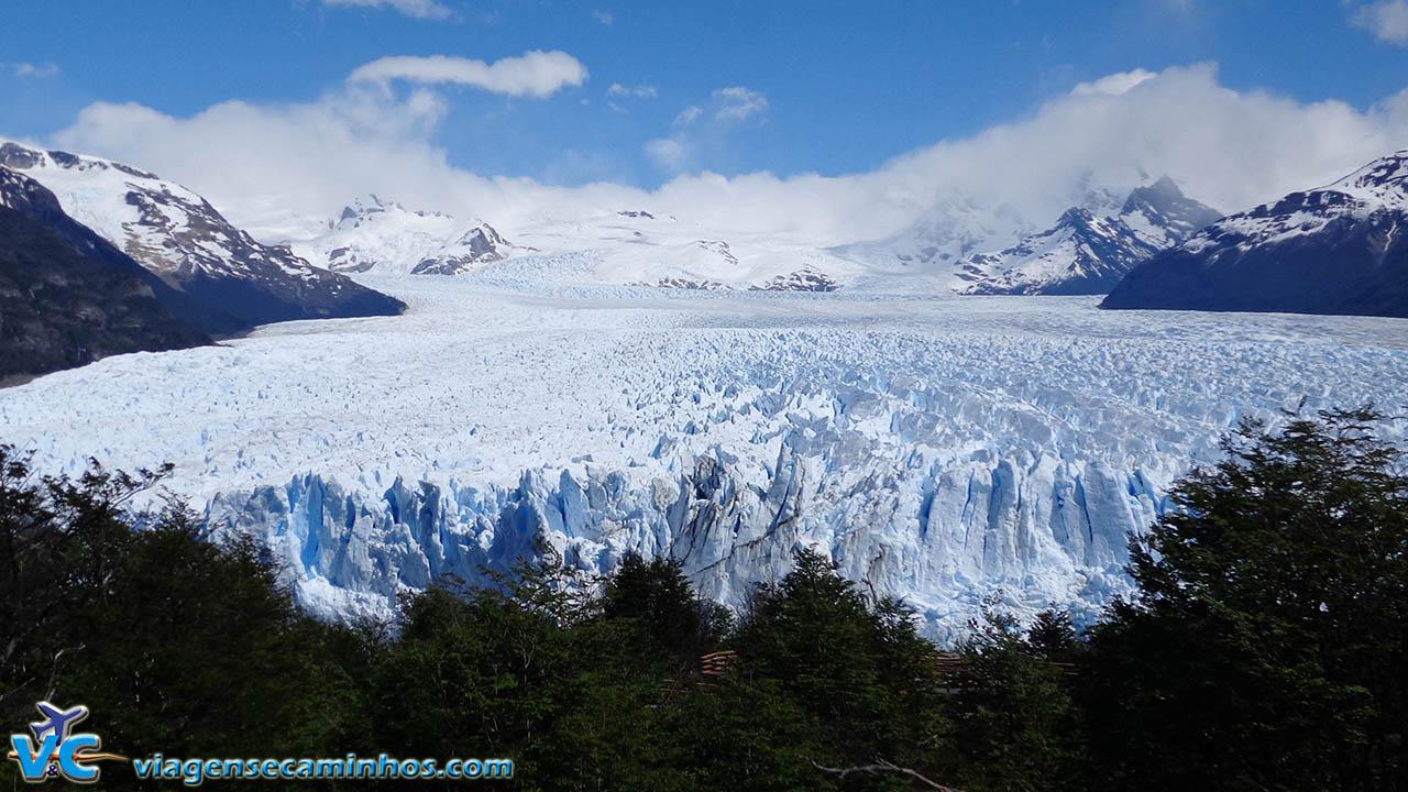 Glaciar Perito Moreno, visto do mirante mais alto