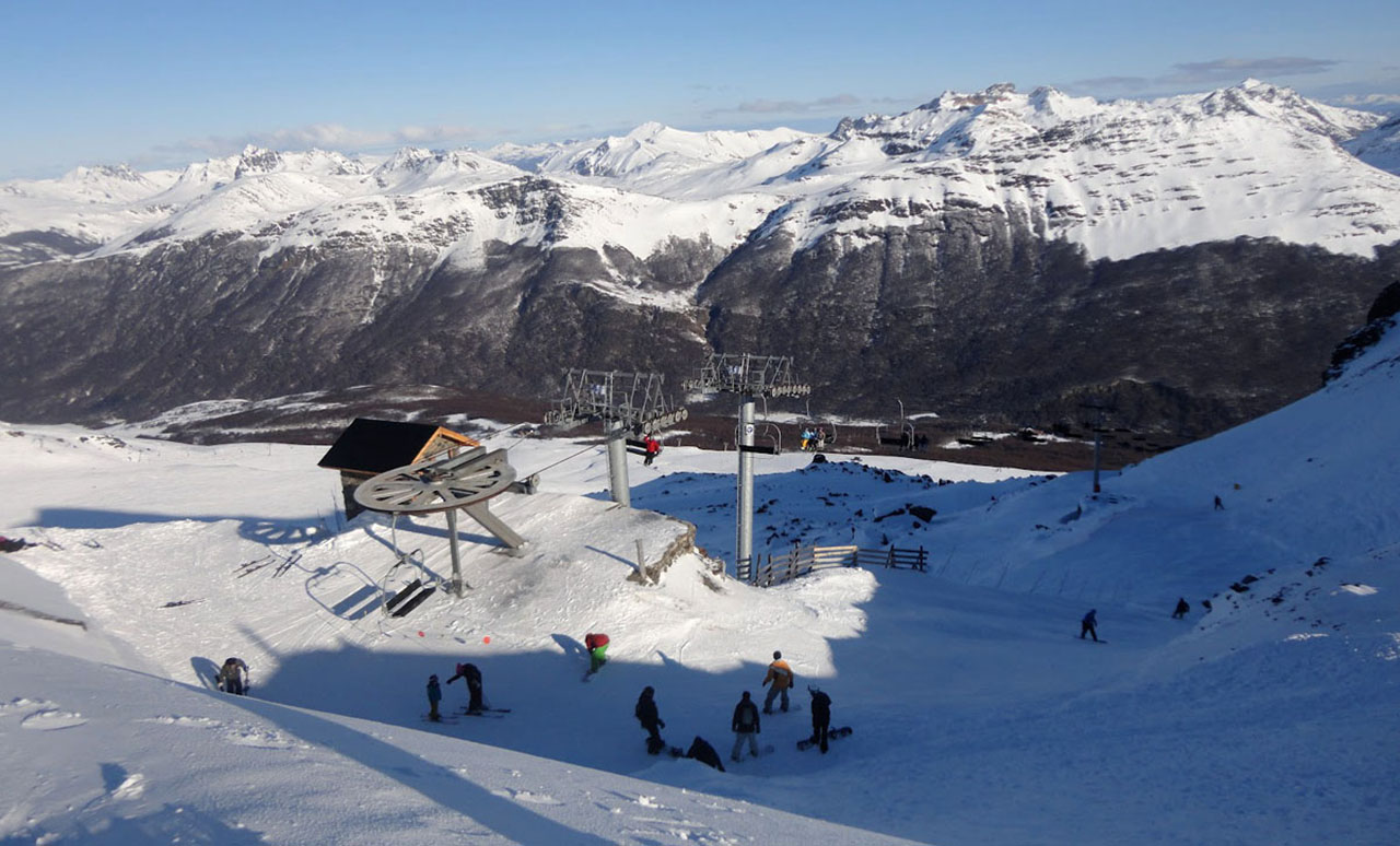 Cerro Castor - estação de esqui de Ushuaia