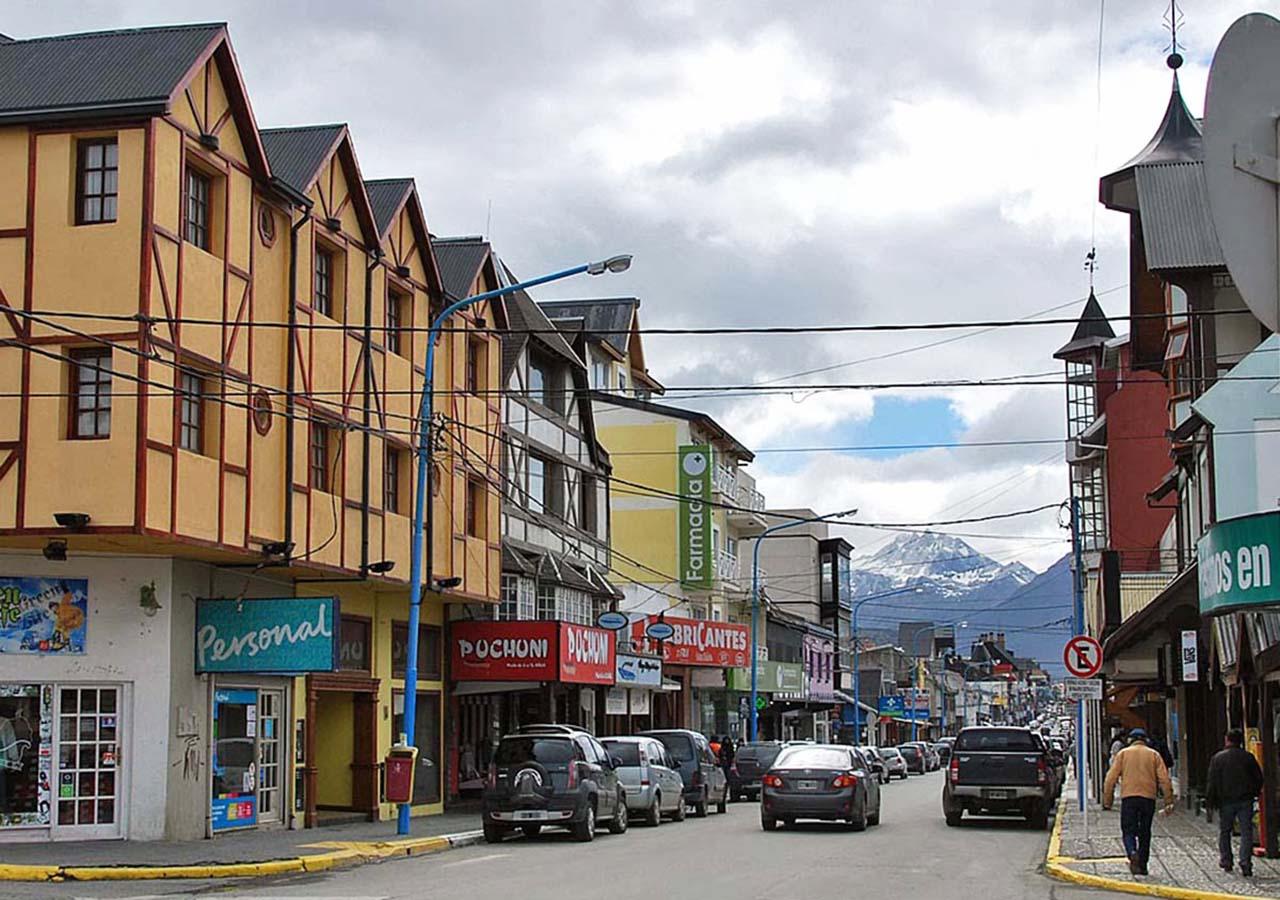 Avenida San Martín - Ushuaia