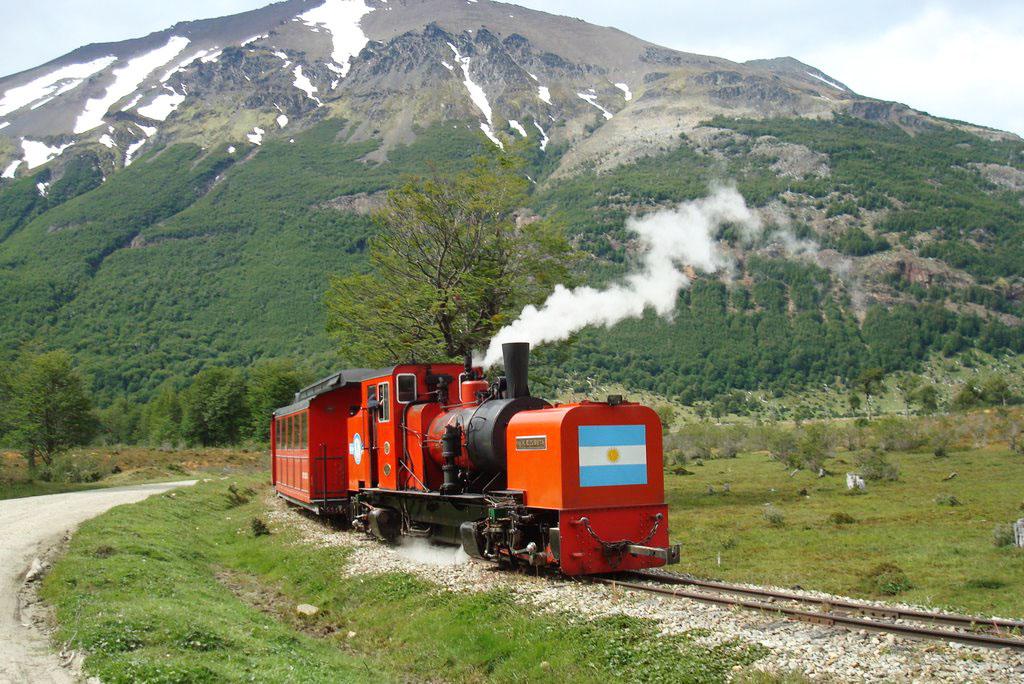 Tren del Fim del Mundo, Parque Nacional Tierra del Fuego