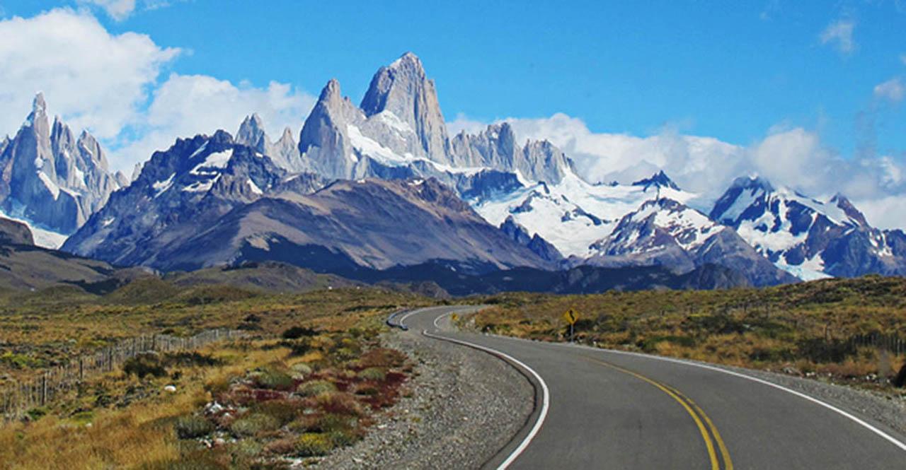 Ruta 23, acesso a El Chaltén