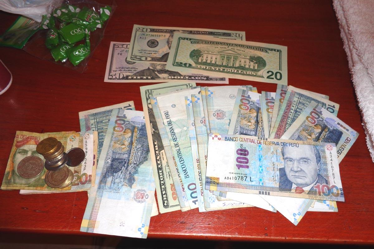 Euro -Dólar - Sol Peruano