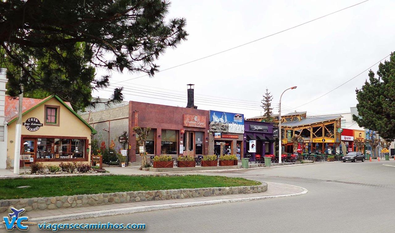 Avenida del Libertador - El Calafate