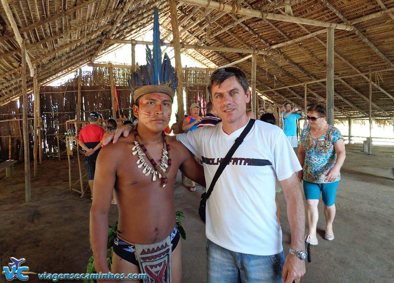 Aldeia dos índios Dessana - Rio Negro
