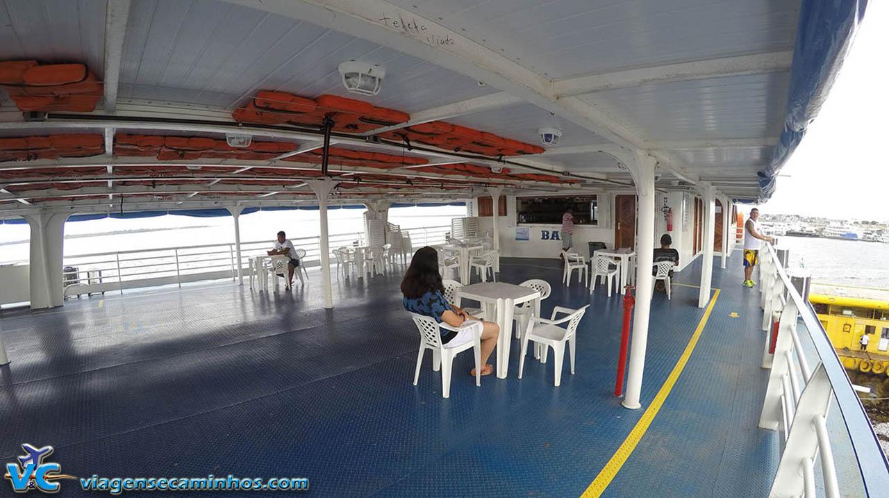 Bar do barco São Bartolomeu IV