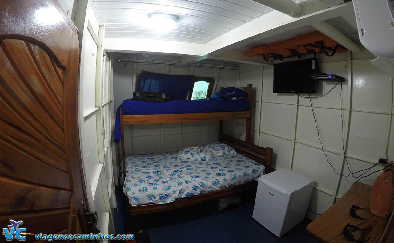 Cabine do barco São Bartolomeu