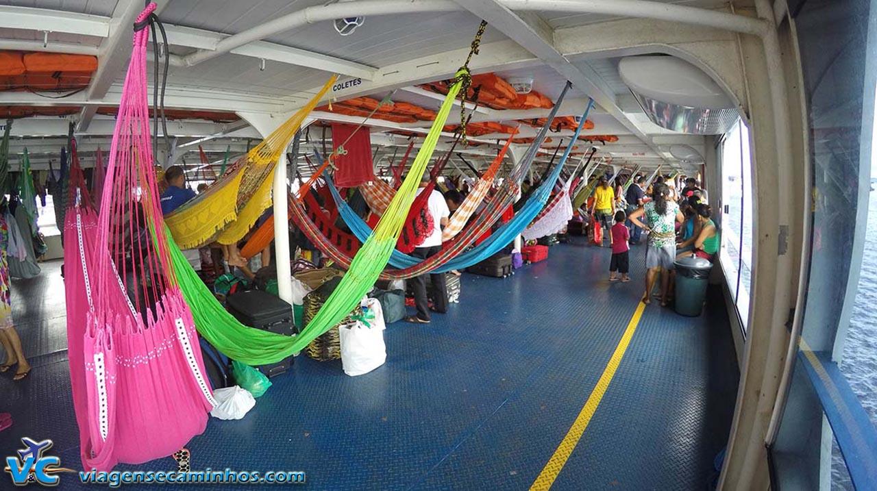 Viajando nas redes no barco São Bartolomeu