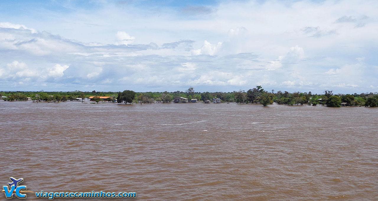 Ribeirinhos do rio Amazonas