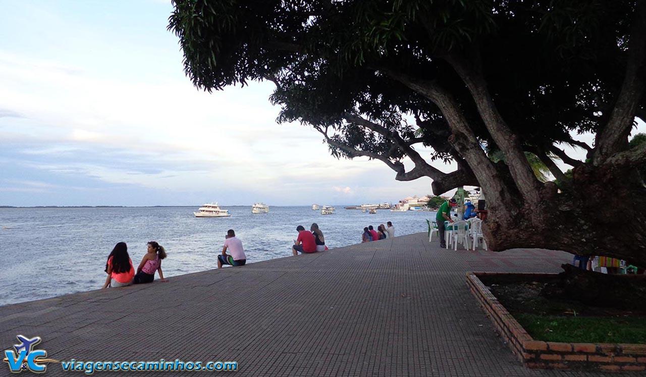 Calçadão da Orla do Rio Tapajós - Santarém