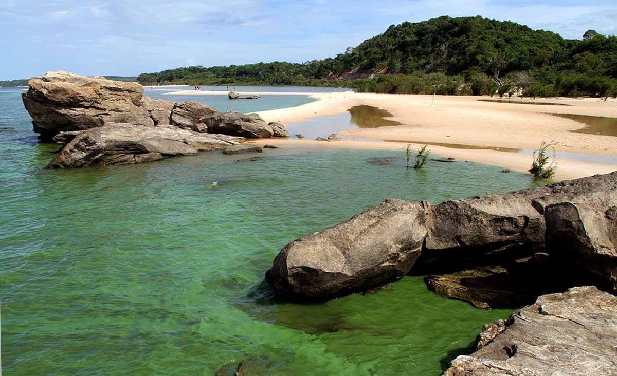Praia de Ponta de Pedras - Rio Tapajós