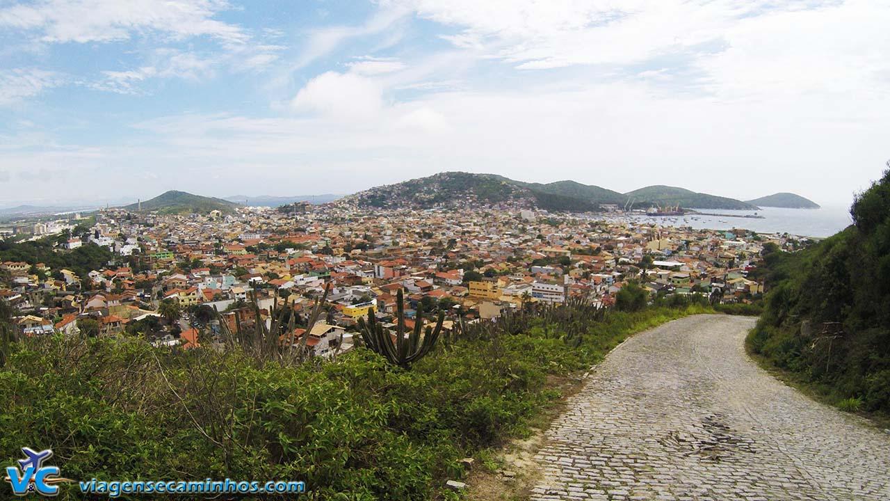 Arraial do Cabo, Estrada do Pontal do Atalaia