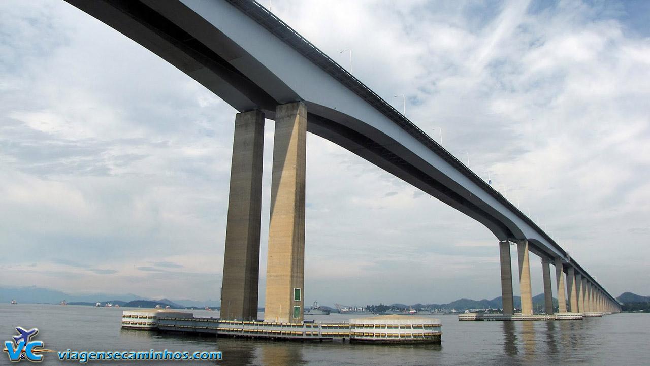 Passando pela Ponte Rio-Niterói