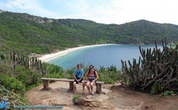 Mirante da trilha da Praia do Forno - Arraial do Cabo