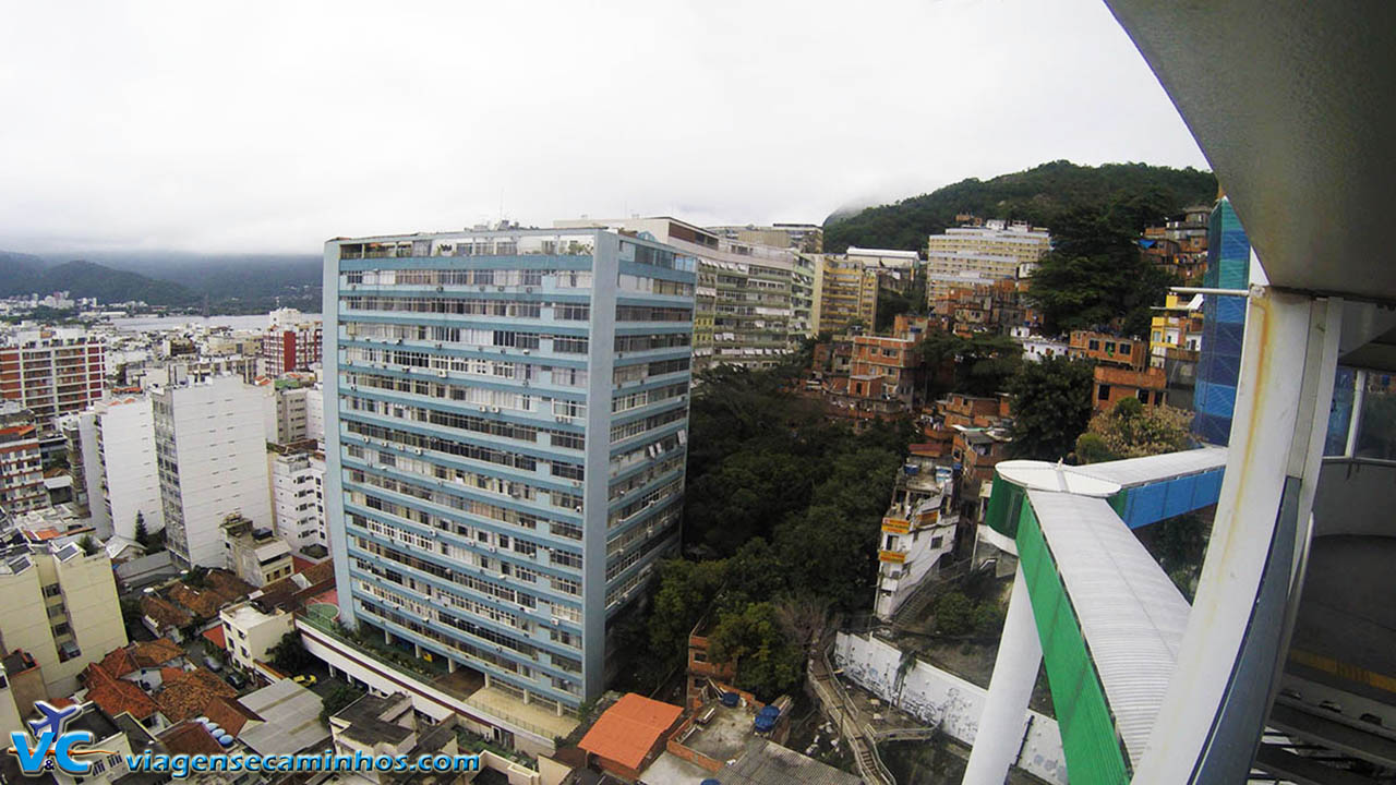 Vista do Mirante da Paz - Ipanema - Rio de Janeiro