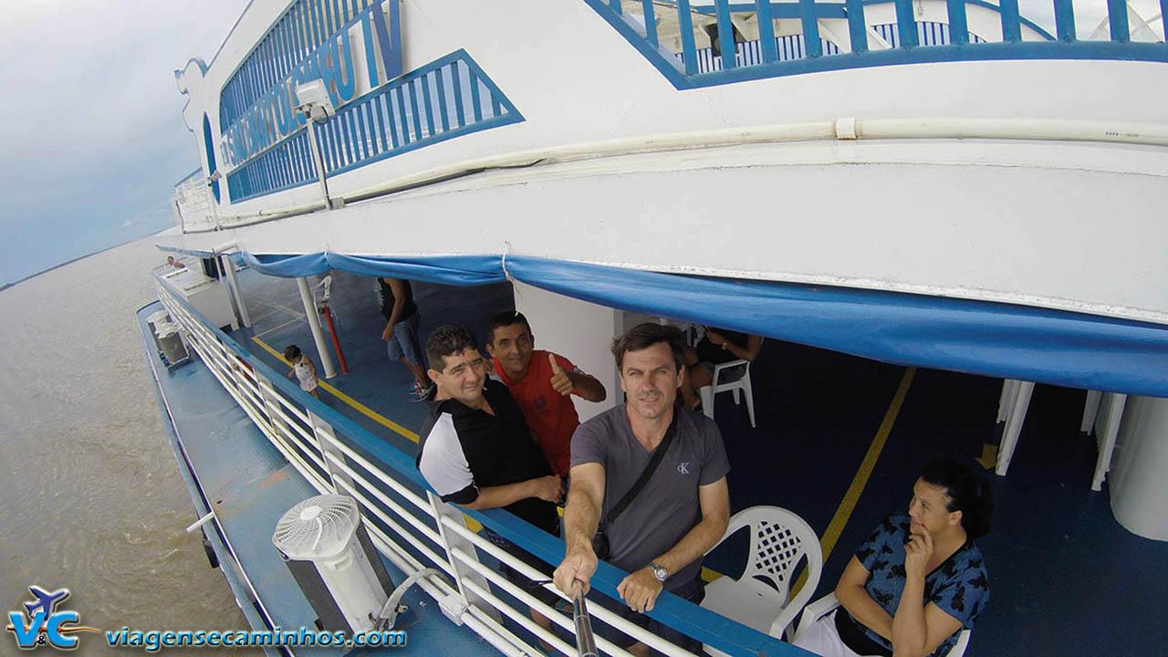 Viagem pelo Rio Amazonas