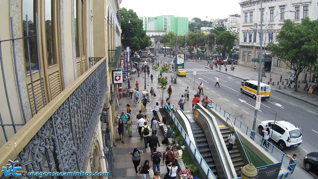 Entrada da estação do Catete - Rio de Janeiro