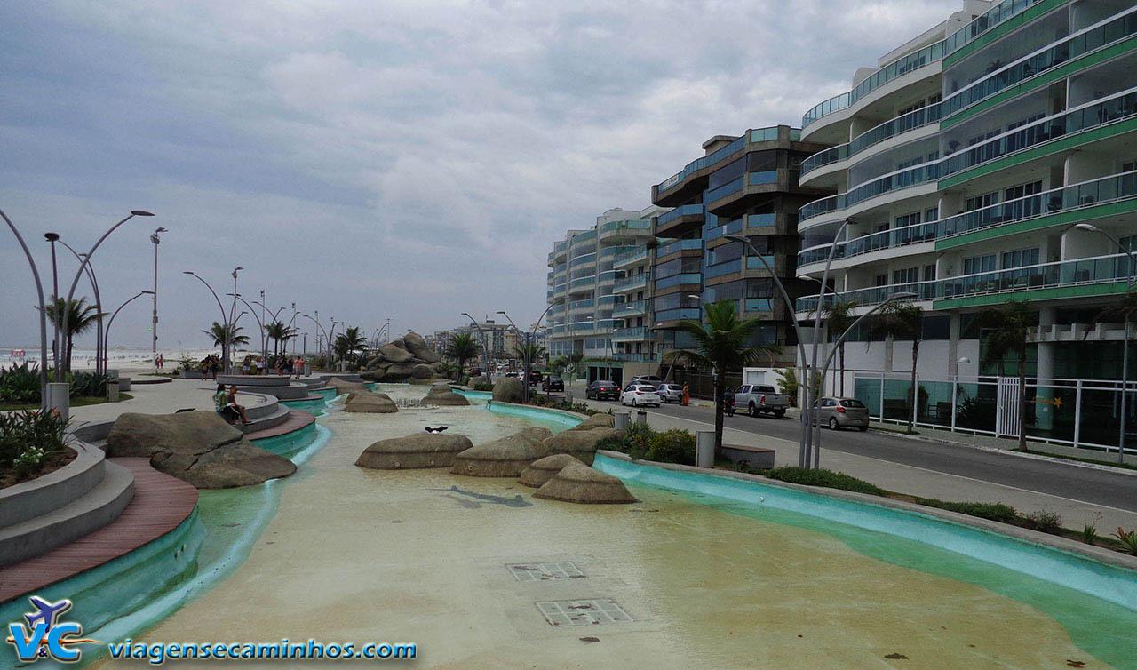 Praça das Águas - Cabo Frio