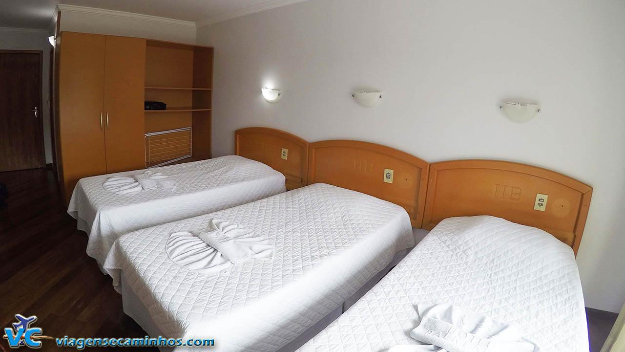 Quarto Hotel Balneário - Marcelino Ramos