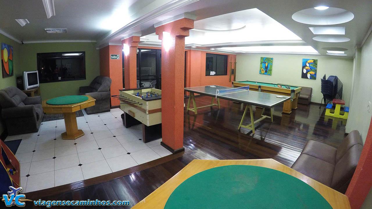 Sala de jogos do Hotel Balneário