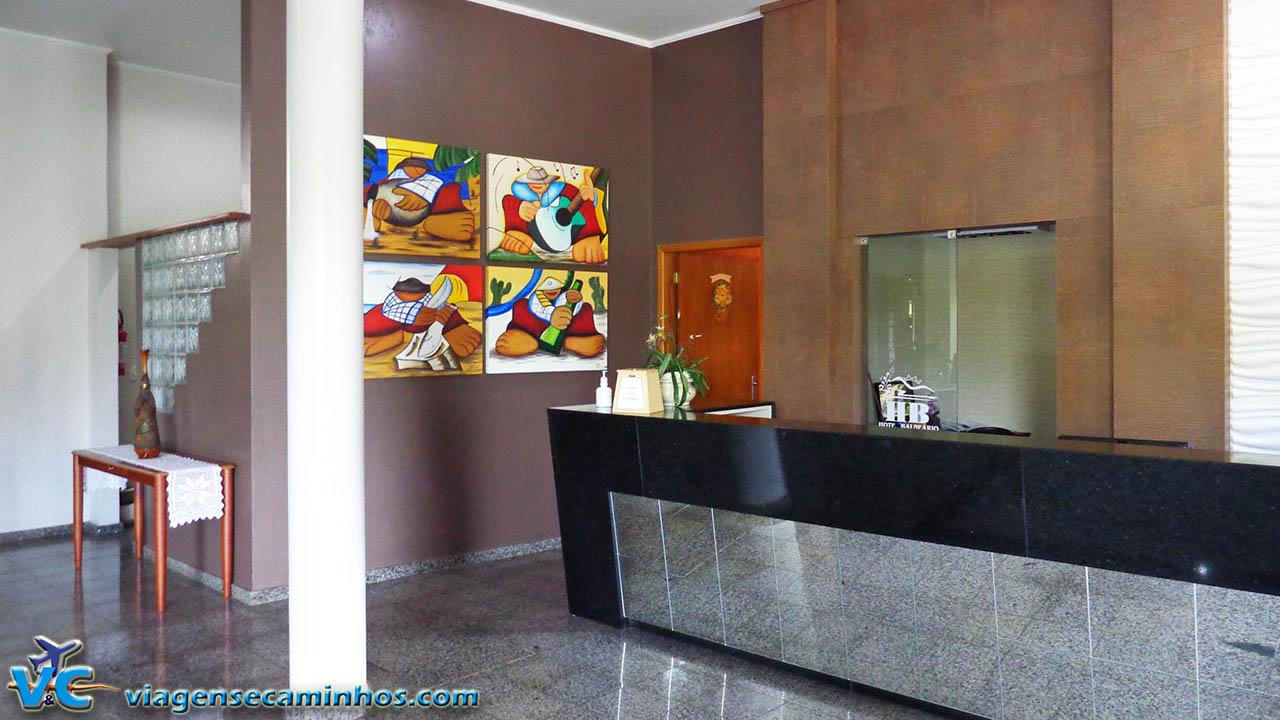 Recepção Hotel Balneário - Marcelino Ramos