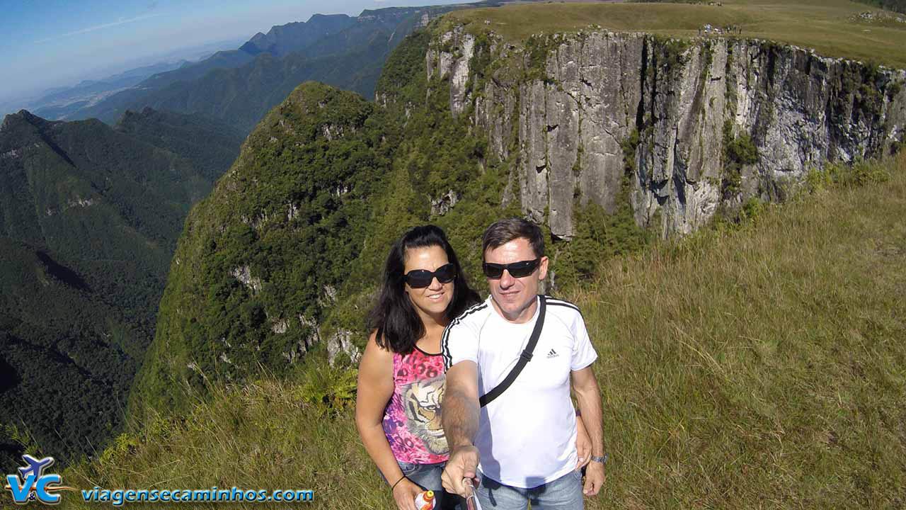 Selfie GoPro Cânion Monte Negro - São José dos Ausentes - RS