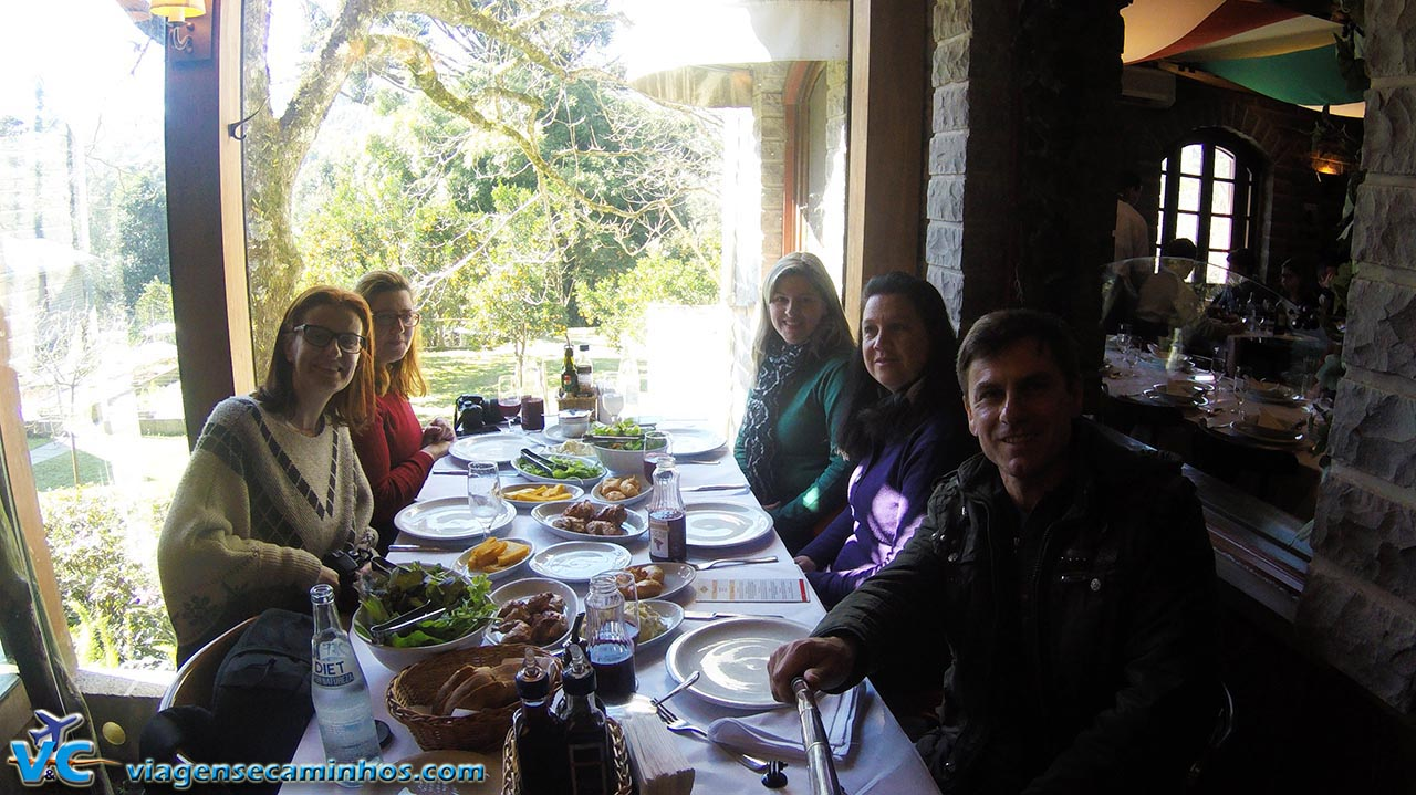 Almoçando com a amigas blogueiras no DiPaolo