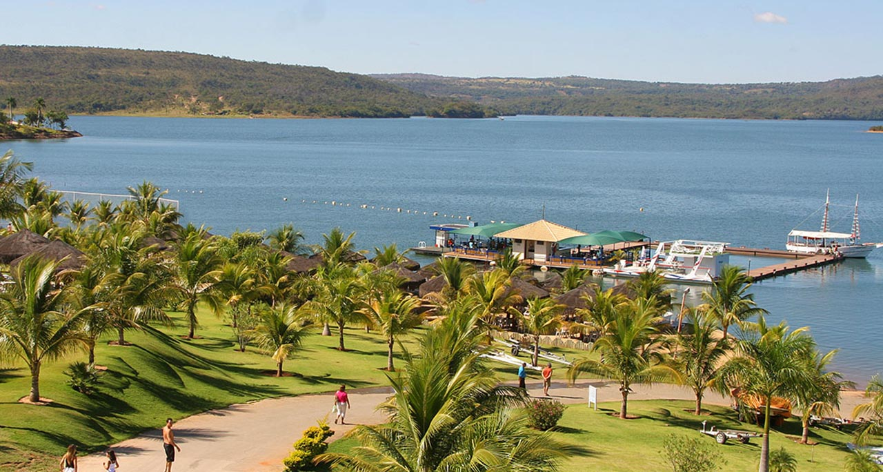 Lago de Corumbá -  Caldas Novas