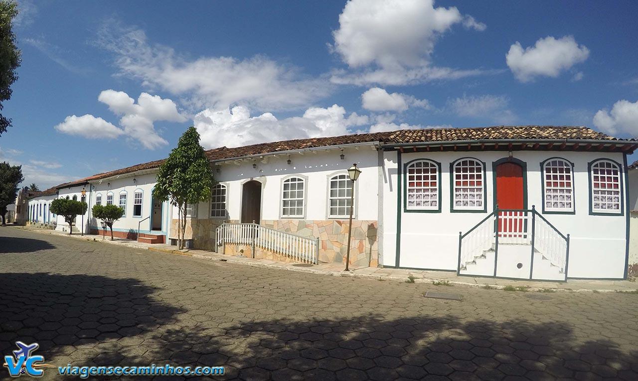 Rua do centro histórico de Pirenópolis - Goiás