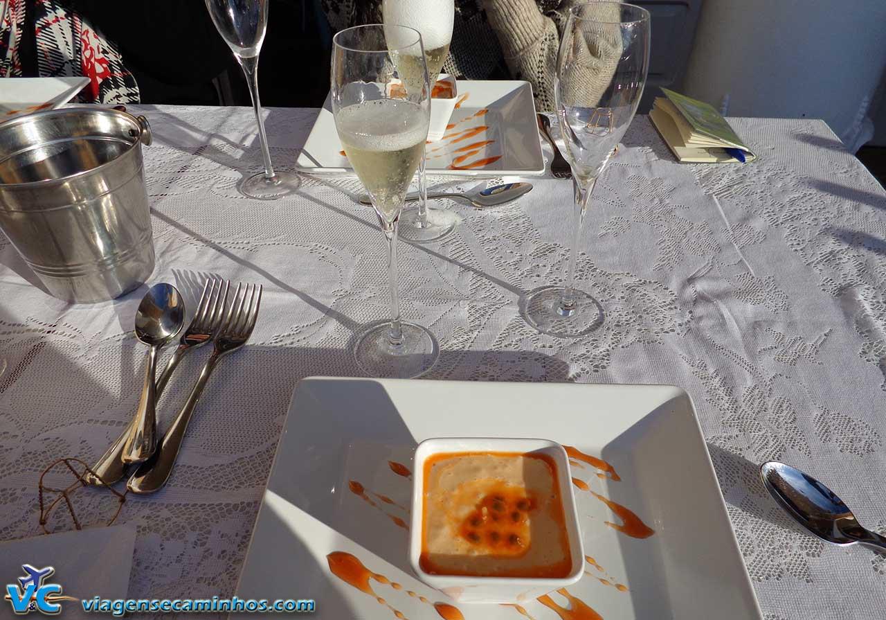 Degustação harmonizada na vinícola Peterlongo