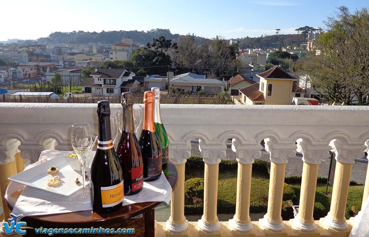 Espumantes da vinícola Peterlongo