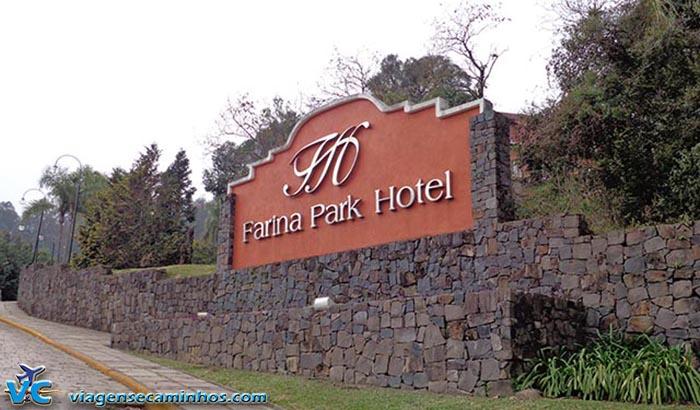 Entrada do Farina Park Hotel