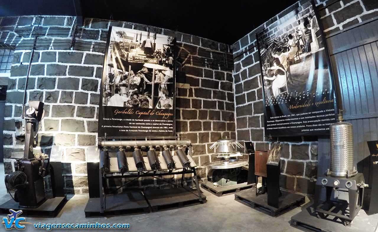 Museu da vinícola Peterlongo