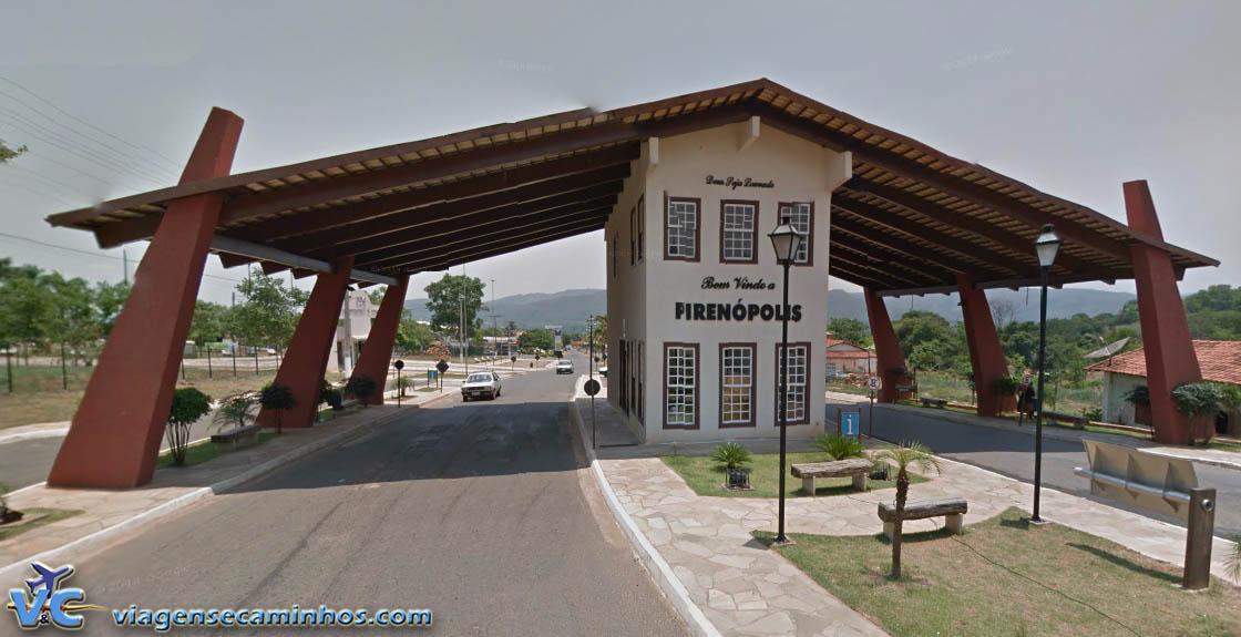 Portal da cidade de Pirenópolis