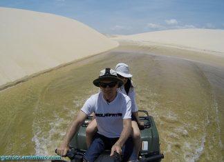 Lençóis Maranhenses - Excursão de quadriciclo até Caburé