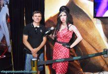 Amy Winehouse - Museu de cera de Gramado