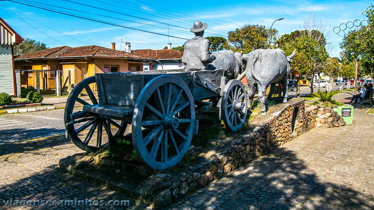 Monumento ao Carreteiro - São Francisco de Paula