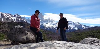 Trilha da montanha Fitz Roy - El Chaltén - Patagônia Argentina