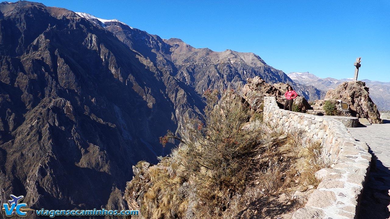 Mirante Cruz del Condor - Cânion Colca - Peru