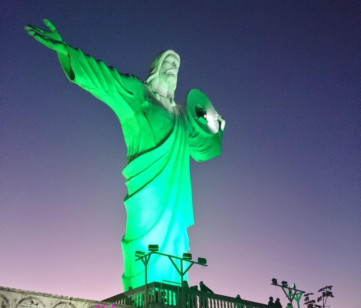 Cristo Luz iluminado